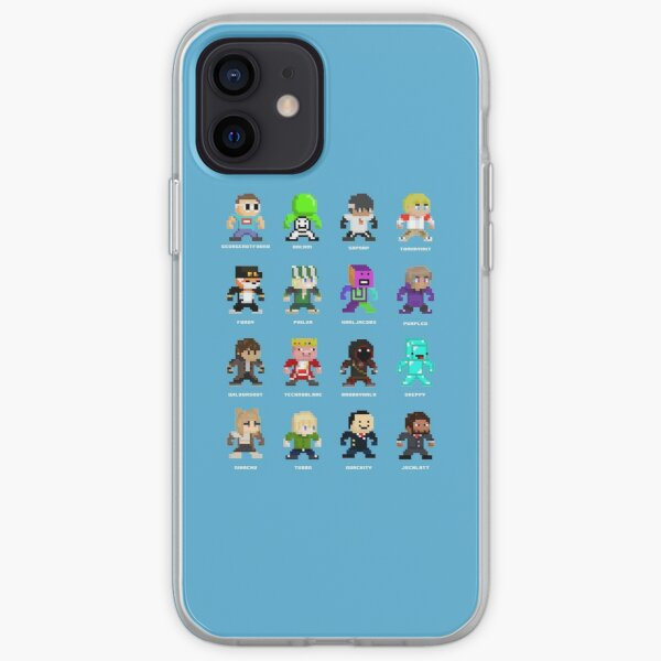 Dream SMP (Named) iPhone Soft Case RB1106 product Offical Dream SMP Merch