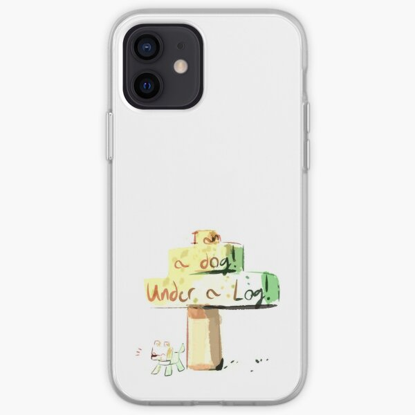 Dream Smp; I am A Dog Under A Log iPhone Soft Case RB1106 product Offical Dream SMP Merch