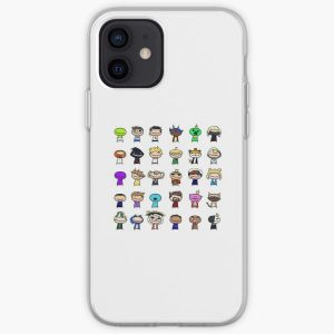 Dream Smp All Members - Dream Smp  iPhone Soft Case RB1106 product Offical Dream SMP Merch