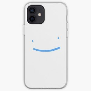 Dream SMP blue smile iPhone Soft Case RB1106 product Offical Dream SMP Merch