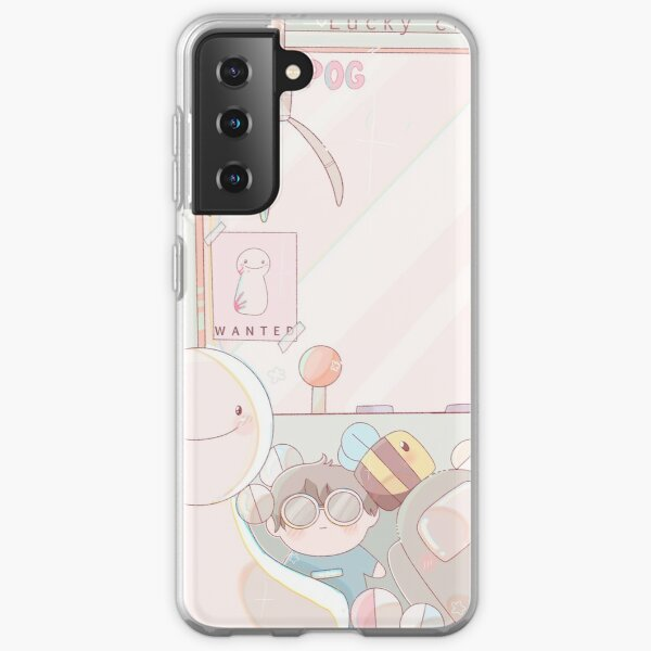 dream smp lucky crane Samsung Galaxy Soft Case RB1106 product Offical Dream SMP Merch