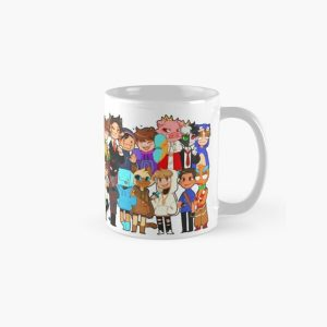 dream smp all members Classic Mug RB1106 product Offical Dream SMP Merch