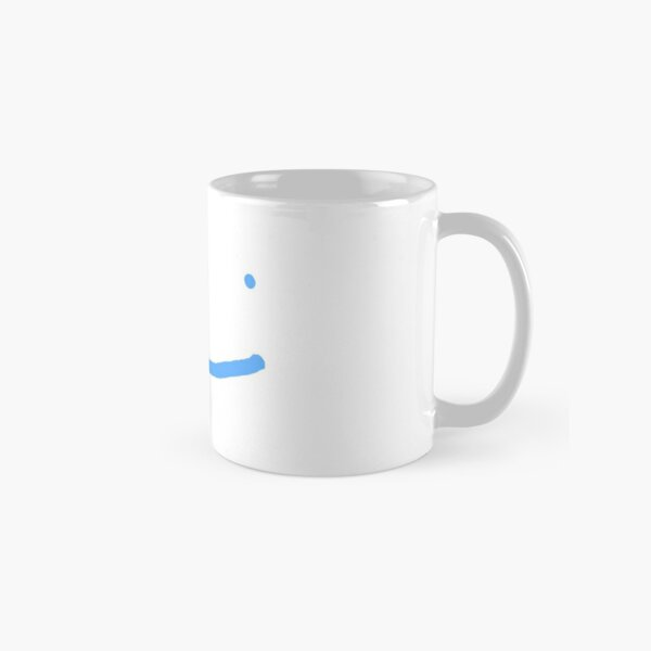 Dream SMP blue smile Classic Mug RB1106 product Offical Dream SMP Merch