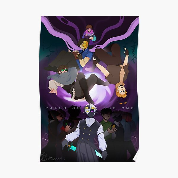 Tales of the SMP Poster RB1106 product Offical Dream SMP Merch