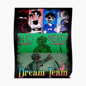 Dream Smp War,Dream Team SMP Poster RB1106 product Offical Dream SMP Merch