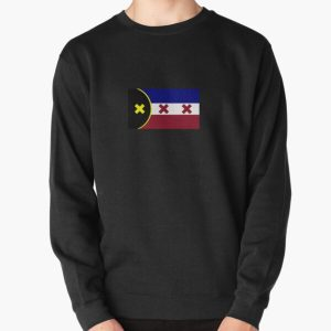 L'Manberg Dream SMP Flag Pullover Sweatshirt RB1106 product Offical Dream SMP Merch