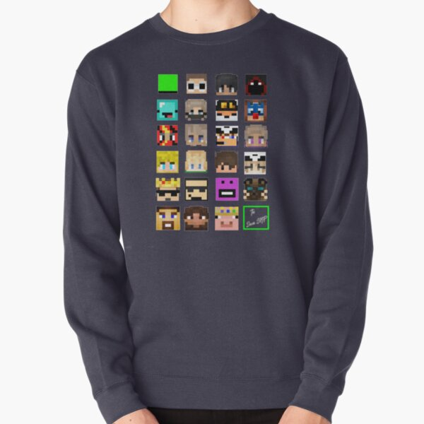 The Whole Dream SMP (Transparent version) Pullover Sweatshirt RB1106 product Offical Dream SMP Merch