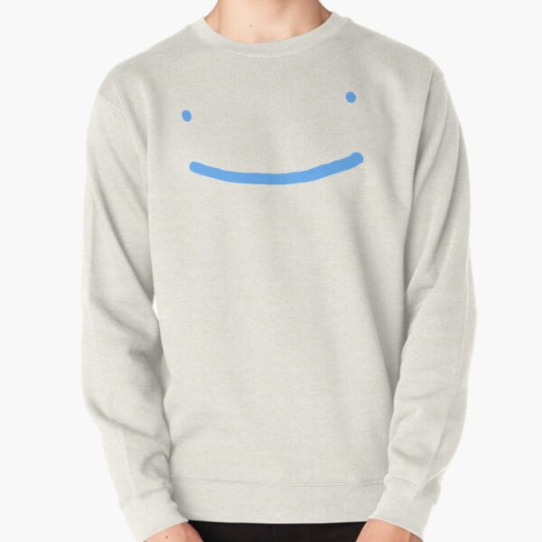 Dream SMP blue smile Pullover Sweatshirt RB1106 product Offical Dream SMP Merch
