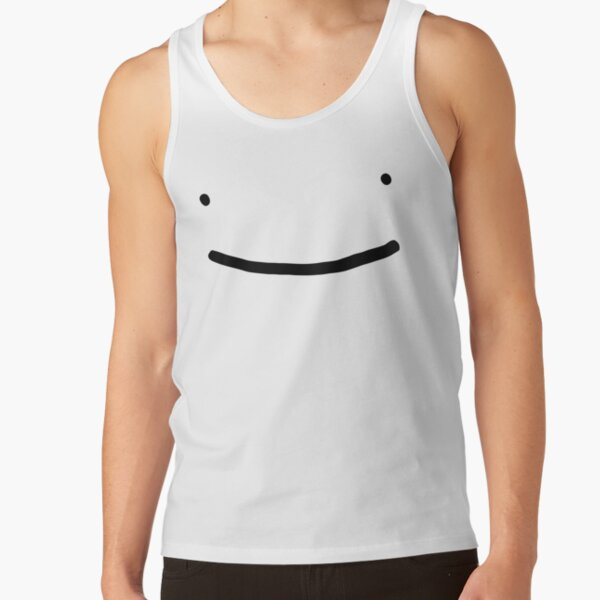 Dream SMP smile Tank Top RB1106 product Offical Dream SMP Merch