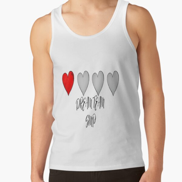 DREAM TEAM SMP GAMER Tank Top RB1106 product Offical Dream SMP Merch