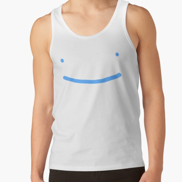 Dream SMP blue smile Tank Top RB1106 product Offical Dream SMP Merch