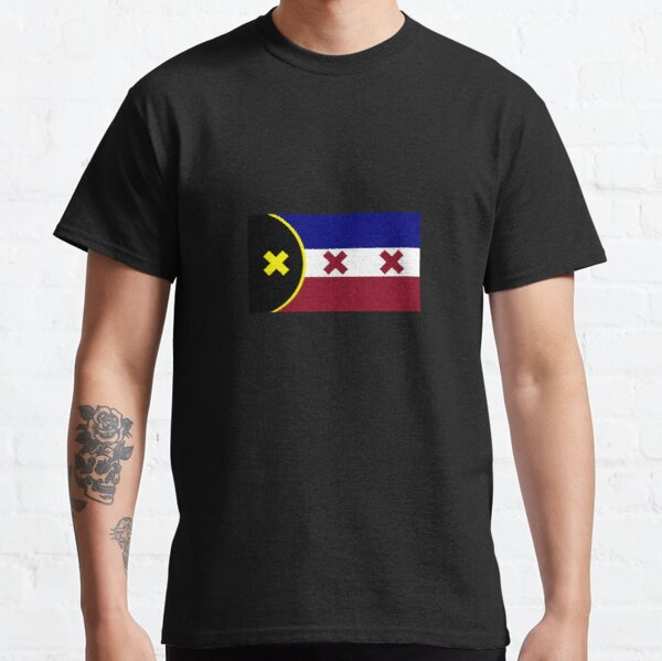 L'Manberg Dream SMP Flag Classic T-Shirt RB1106 product Offical Dream SMP Merch