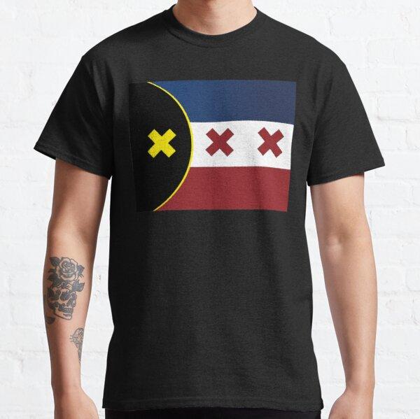 Lmanburg flag, Dream Smp, l'manberg,Manberg. Classic T-Shirt RB1106 product Offical Dream SMP Merch