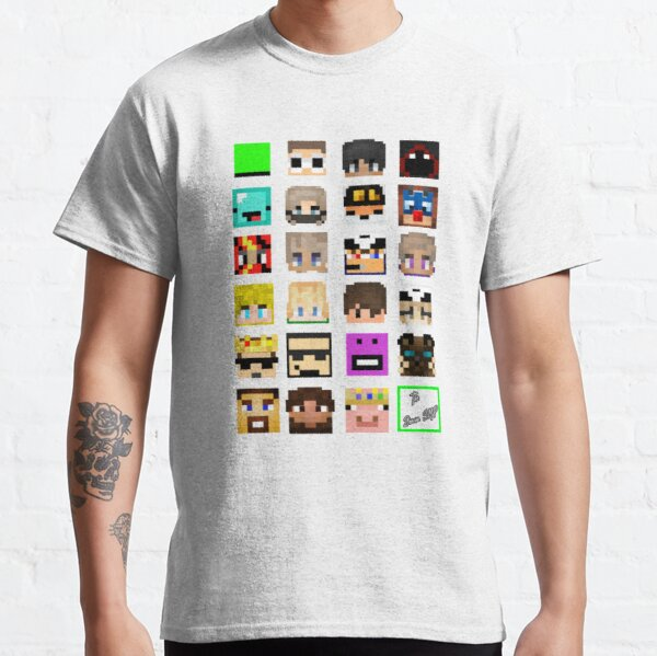 The Whole Dream SMP (Transparent version) Classic T-Shirt RB1106 product Offical Dream SMP Merch