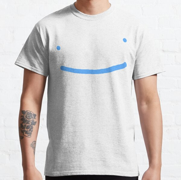 Dream SMP blue smile Classic T-Shirt RB1106 product Offical Dream SMP Merch