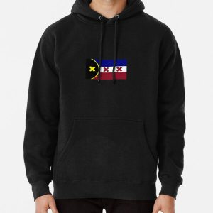 L'Manberg Dream SMP Flag Pullover Hoodie RB1106 product Offical Dream SMP Merch