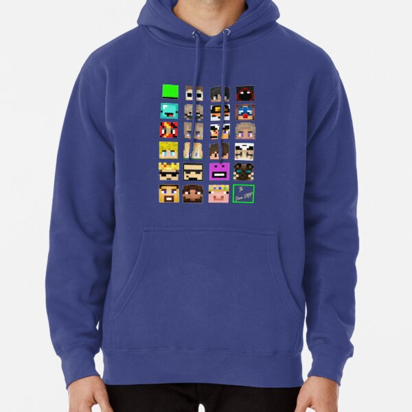 The Whole Dream SMP (Transparent version) Pullover Hoodie RB1106 product Offical Dream SMP Merch