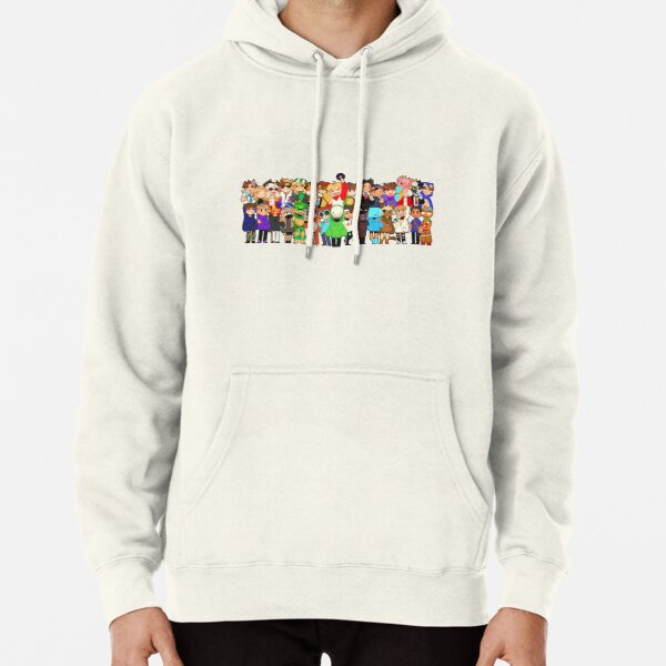 dream smp all members Pullover Hoodie RB1106 product Offical Dream SMP Merch