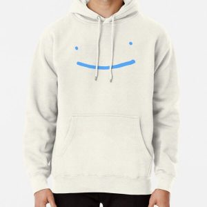 Dream SMP blue smile Pullover Hoodie RB1106 product Offical Dream SMP Merch