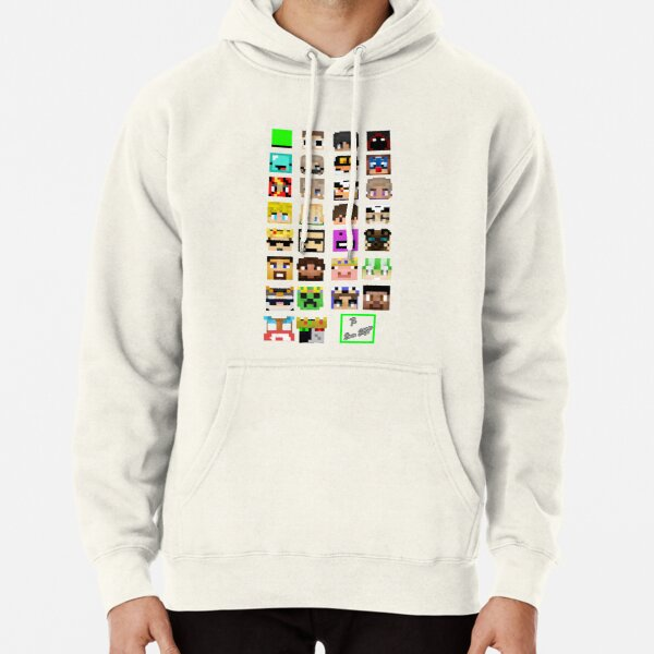 The Whole Dream SMP Version 2.0 (Transparent version) Pullover Hoodie RB1106 product Offical Dream SMP Merch