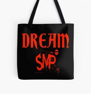 Dream SMP All Members : Cute Gift idea For Friends, Dad, Brothers  & Siblings All Over Print Tote Bag RB1106 product Offical Dream SMP Merch