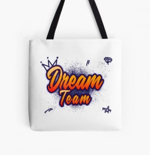 Dream smp All Over Print Tote Bag RB1106 product Offical Dream SMP Merch