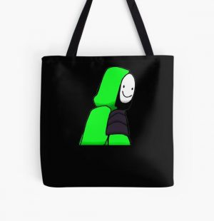 Dream smp smile minecraft 7 million smile dream smile minecraft  All Over Print Tote Bag RB1106 product Offical Dream SMP Merch
