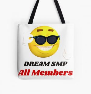 Dream SMP All Members All Over Print Tote Bag RB1106 product Offical Dream SMP Merch