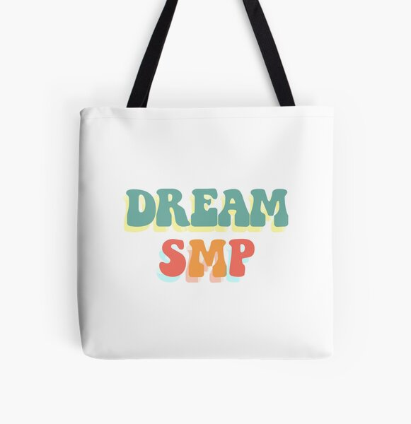 Dream SMP Classic Retro All Over Print Tote Bag RB1106 product Offical Dream SMP Merch