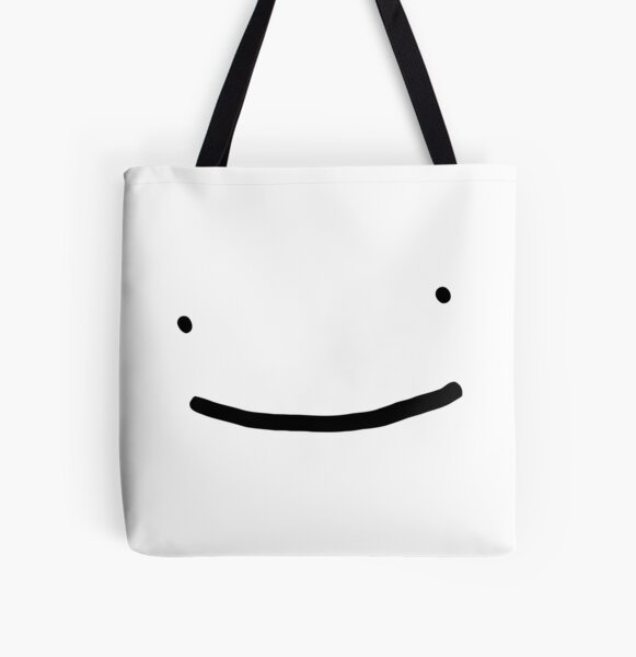 Dream SMP smile All Over Print Tote Bag RB1106 product Offical Dream SMP Merch