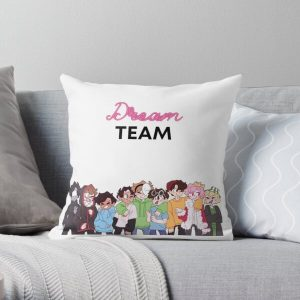 Dream SMP Team Throw Pillow RB1106 product Offical Dream SMP Merch