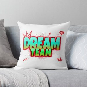 Dream smp Throw Pillow RB1106 product Offical Dream SMP Merch