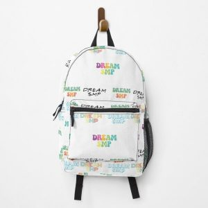 Dream SMP Cute Text Sticker Pack Backpack RB1106 product Offical Dream SMP Merch
