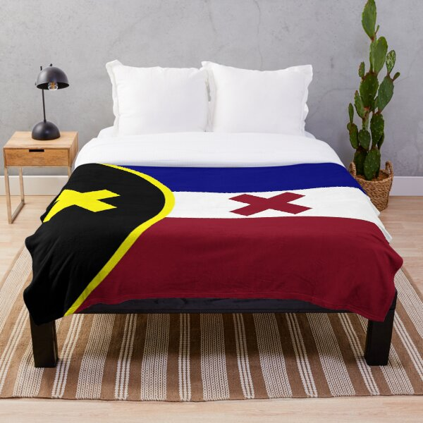 L'Manberg Dream SMP Flag Throw Blanket RB1106 product Offical Dream SMP Merch