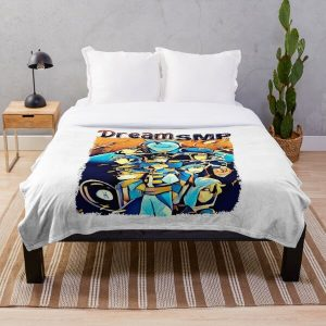 Dream SMP Team Throw Blanket RB1106 product Offical Dream SMP Merch