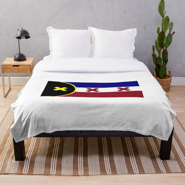 dream smp flag Throw Blanket RB1106 product Offical Dream SMP Merch