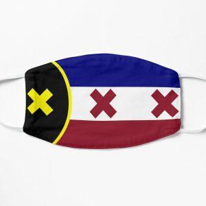 dream smp lmanburg flag Flat Mask RB1106 product Offical Dream SMP Merch